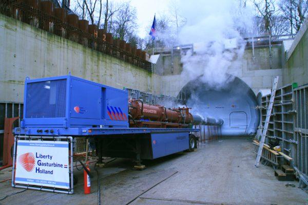 Steamexfire 2500 tunnel